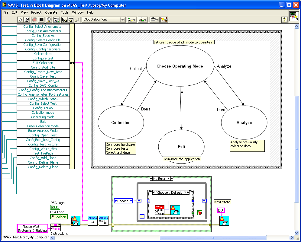 i work with a bunch of cretified labview architects and we try to stick with the rule can you read it at a glance this helps them and me  [ 996 x 802 Pixel ]