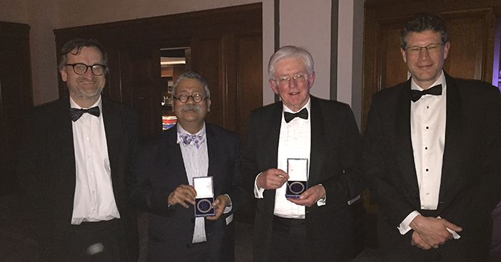 Prof. Tipu Aziz wins Medal of the Society of British Neurological Surgeons