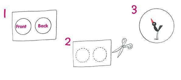 Crafty Kids: How To Make A Thaumatrope