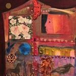 "NIA member Lea Goldman, ""Doll House"", collage"