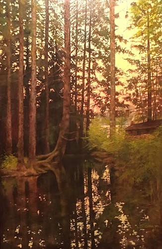 Curator_Joseph Schultz_Mellow Light_Oil on Canvas
