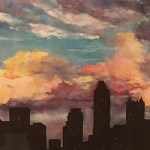 Joan Spohrer, Evening Cityscape