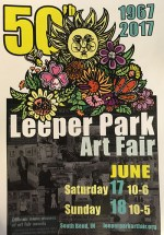 Leeper Park Art Fair ad