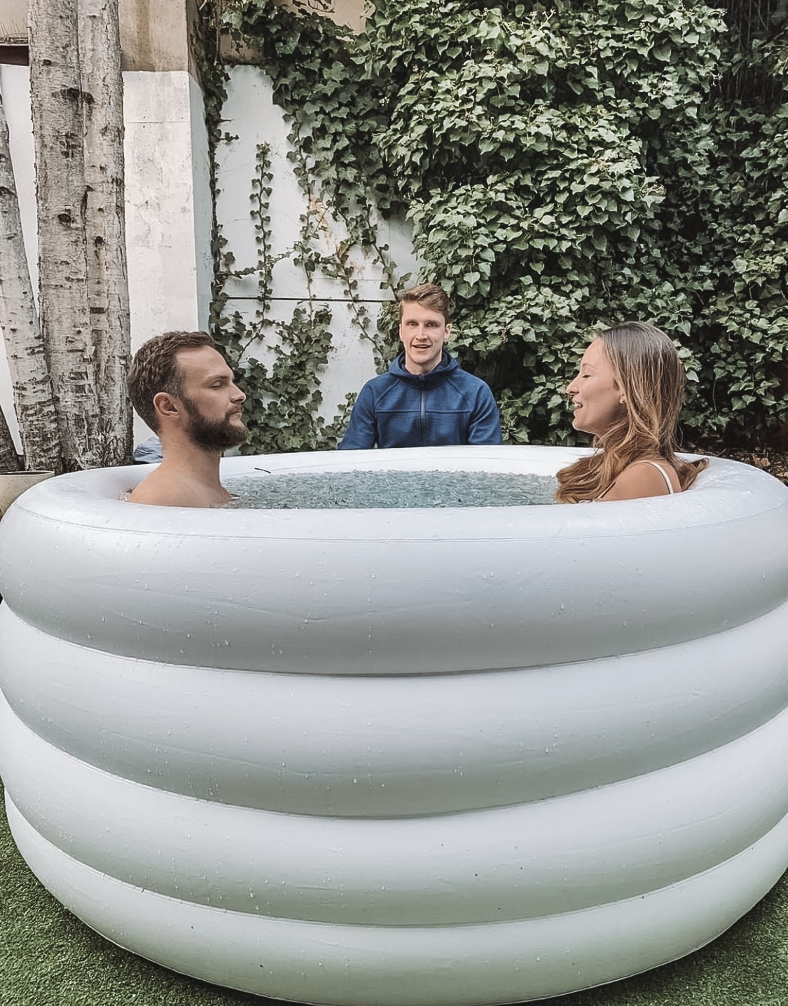 The Wim Hof technique: Breathwork, Movement + Ice Bath