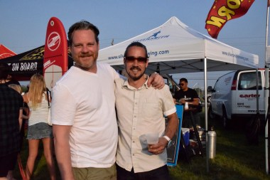 Mike Langley of Tide and Vine and Chef Andrew McLeod of Bolette