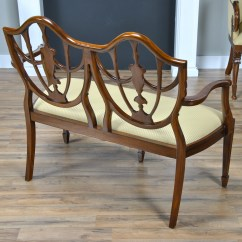 2 Seater Love Chair Revolving Technical Specification Shield Back Two Seat Niagara Furniture