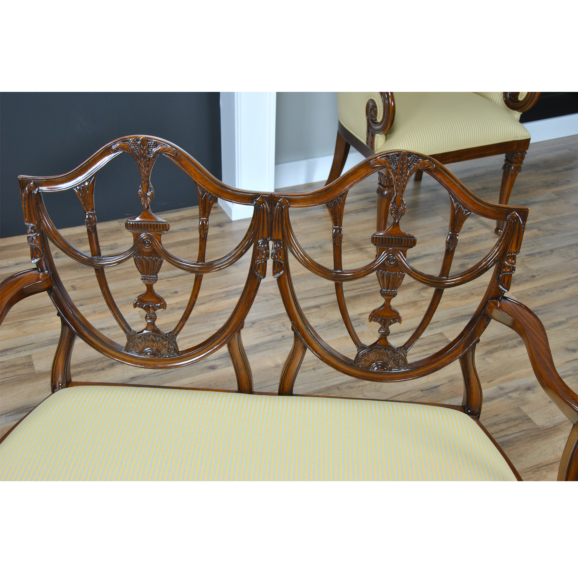 2 seater love chair see through dining chairs shield back two seat niagara furniture