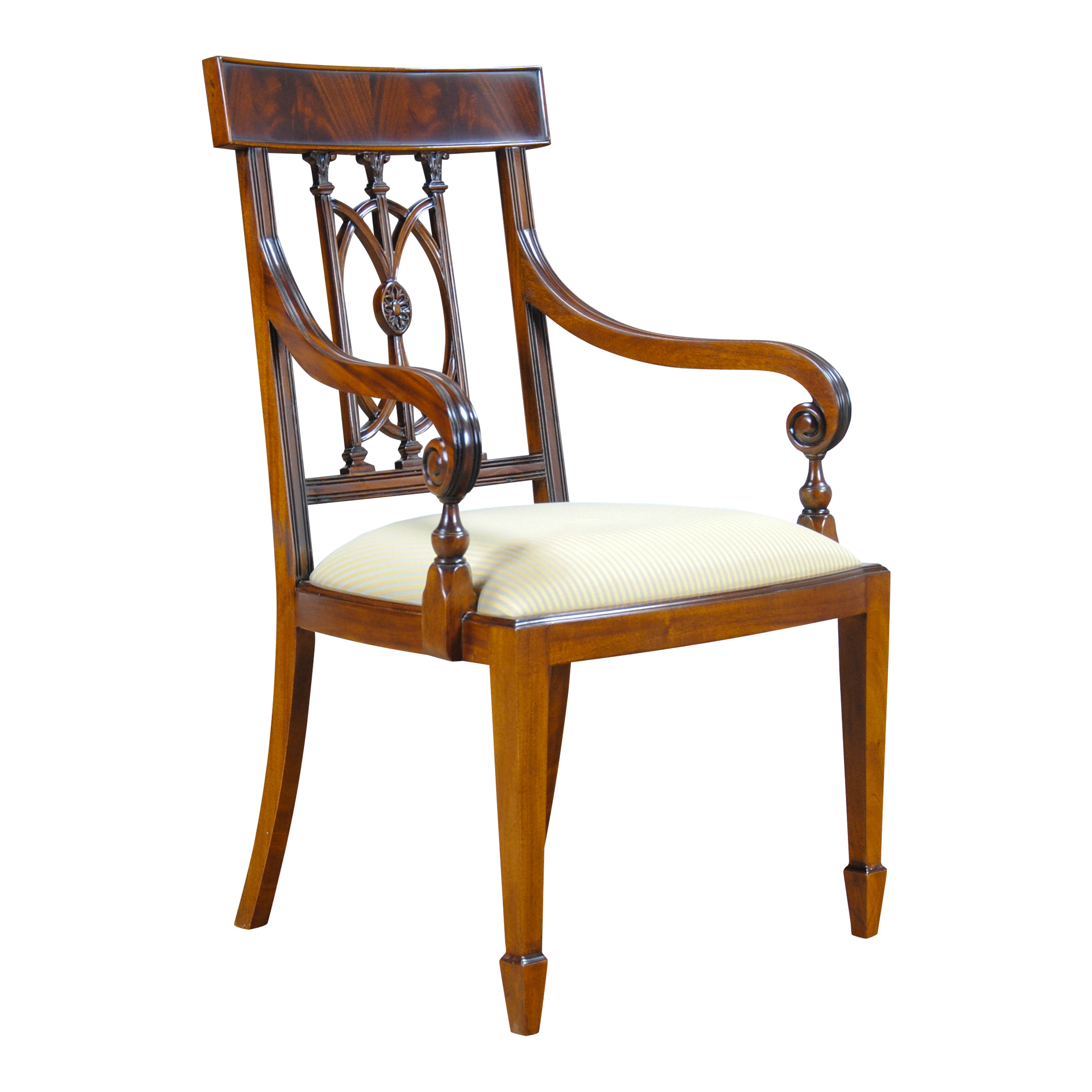 Mahogany Hepplewhite Arm Chair Niagara Furniture free