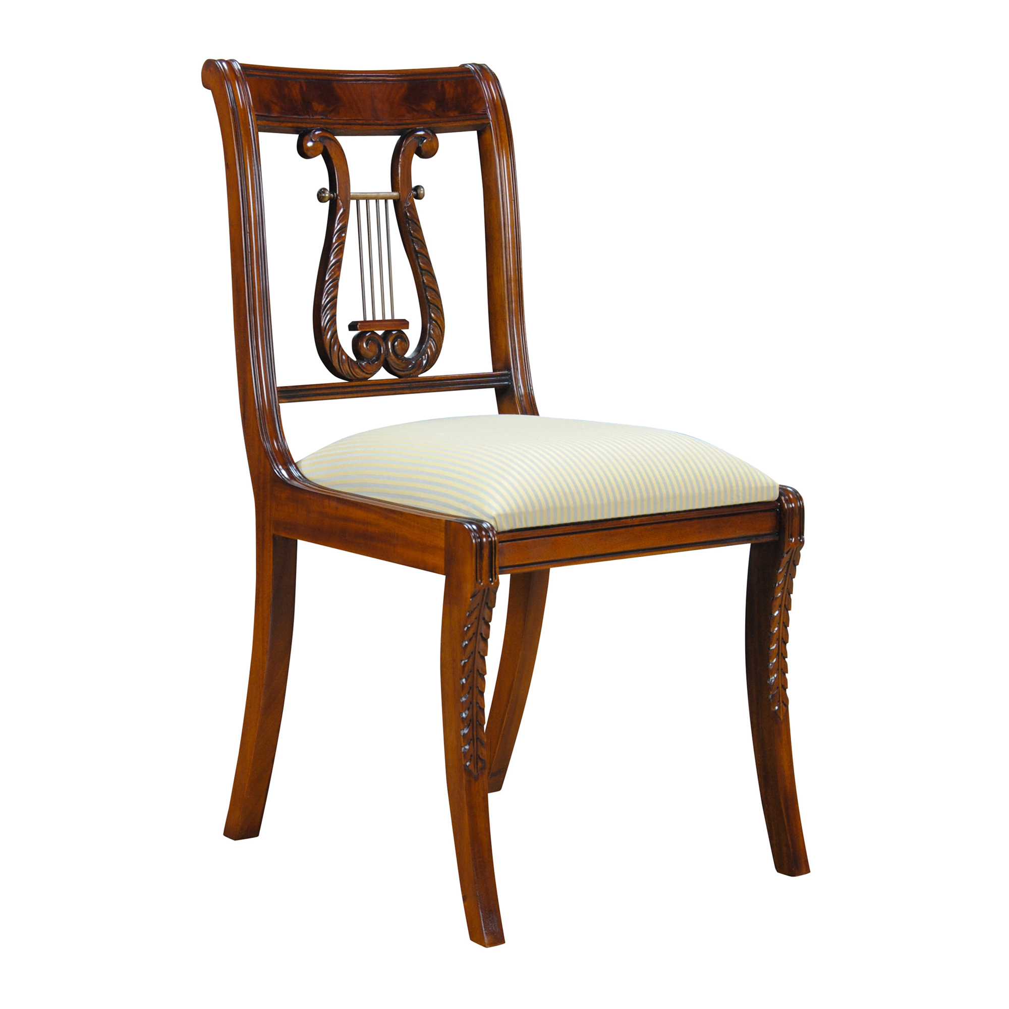 Back Chair Lyre Side Chair Harp Back Chair Niagara Furniture Free