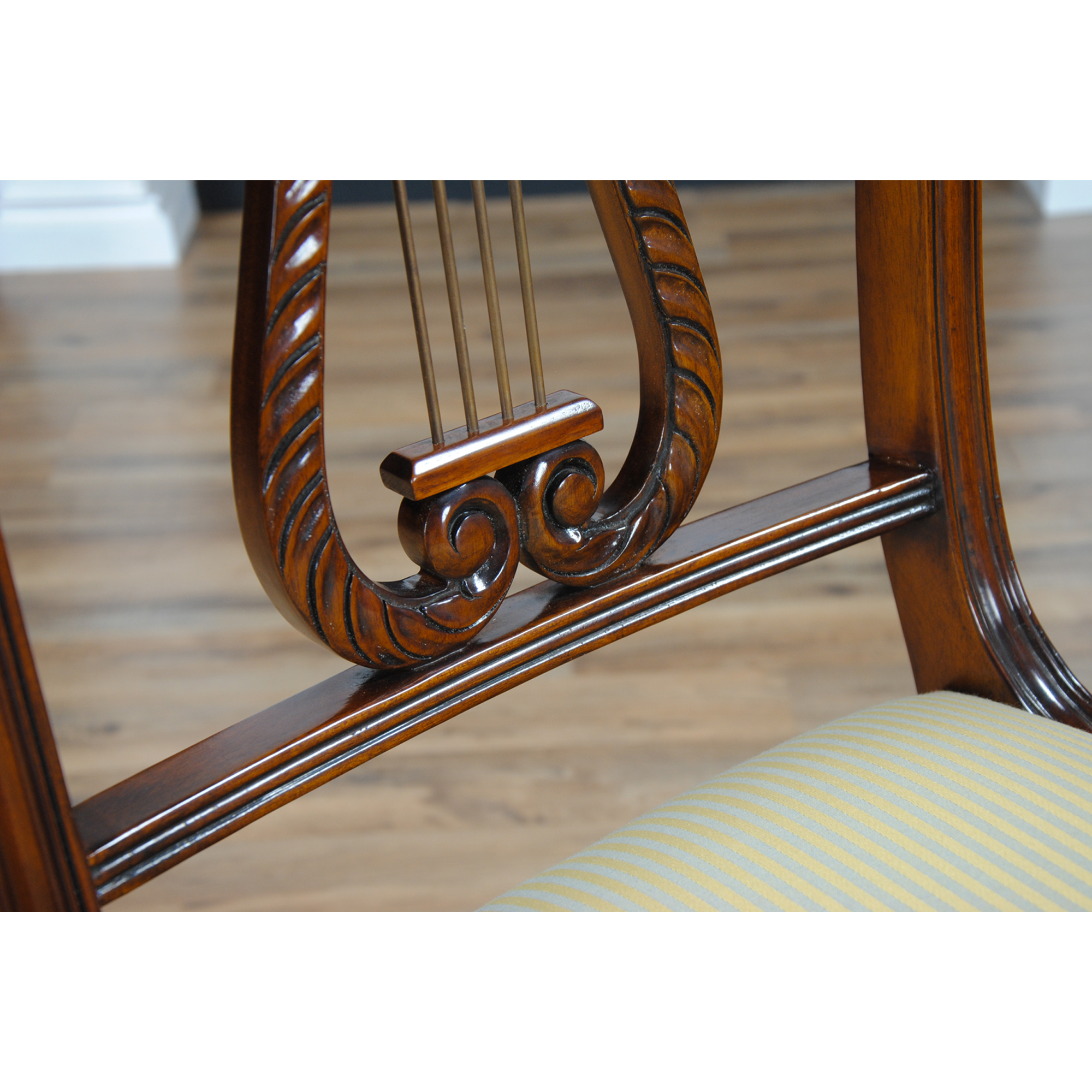 Lyre Back Chairs Lyre Side Chair Harp Back Chair Niagara Furniture Free