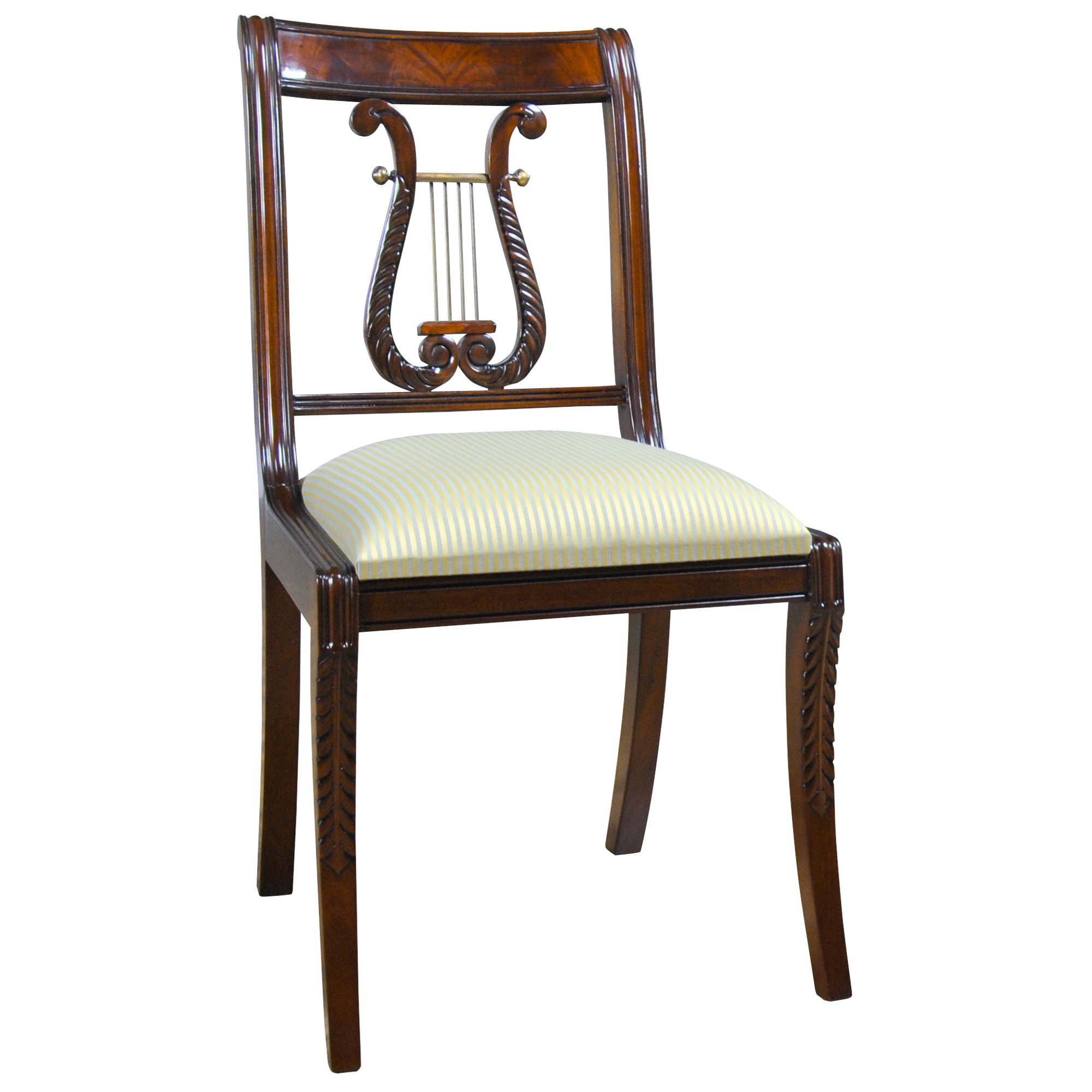 Lyre Back Chairs Home Furniture Dining Room Chairs Harp Back Chair