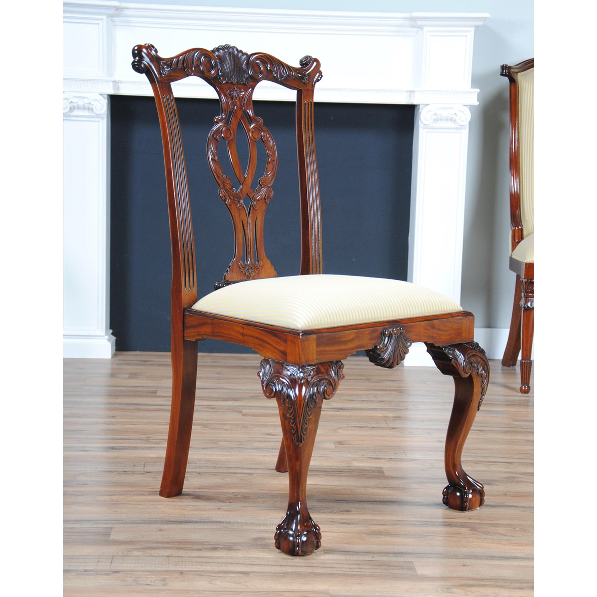 Philadelphia Chippendale Side Chair Niagara Furniture