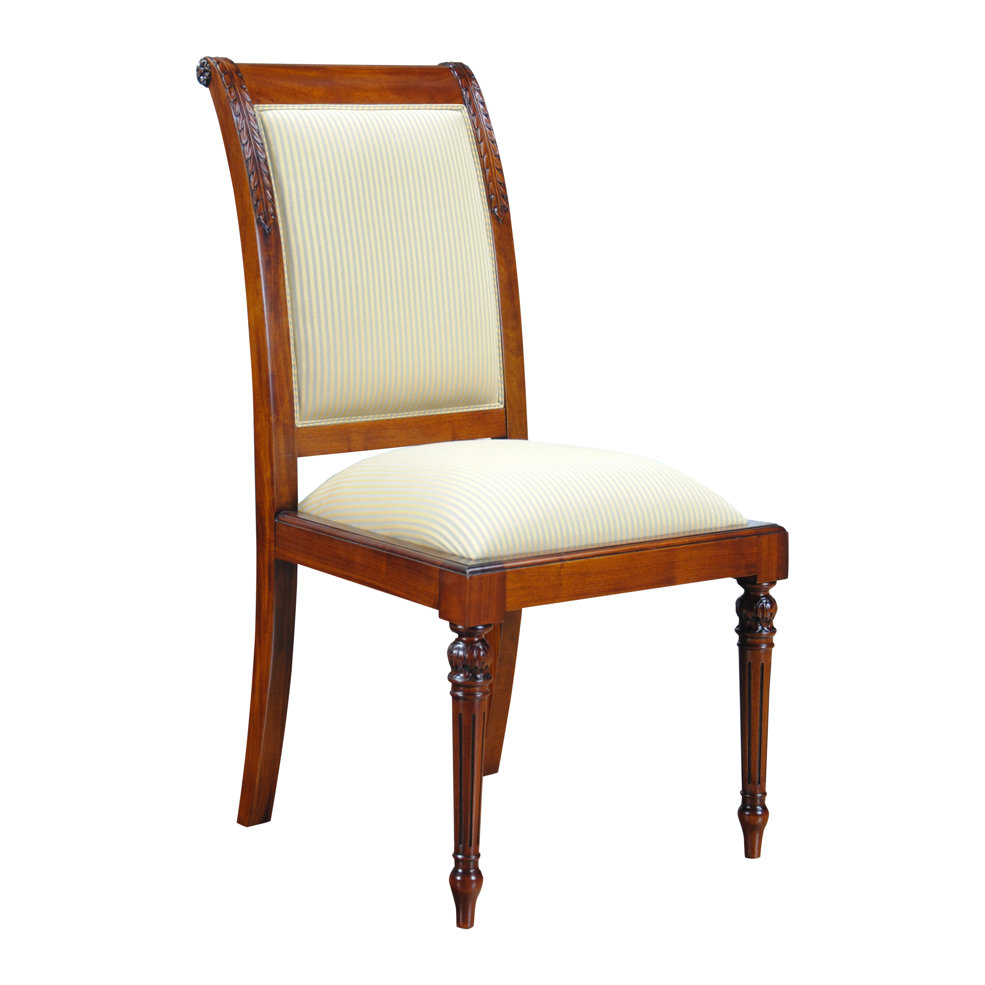 Upholstered Side Chairs Empire Upholstered Side Chair Niagara Furniture Solid