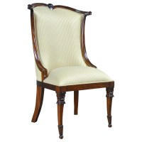 American Upholstered Side Chair, Niagara Furniture, high end