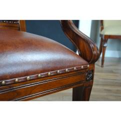 Full Grain Leather Chair Modern Recliner Swivel 2 Regency Arm Niagara Furniture