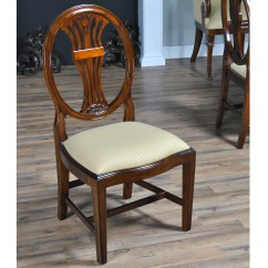 Oval Back Dining Room Chairs How To Install Serena And Lily Hanging Chair Inlaid Side Niagara Furniture Free Shipping
