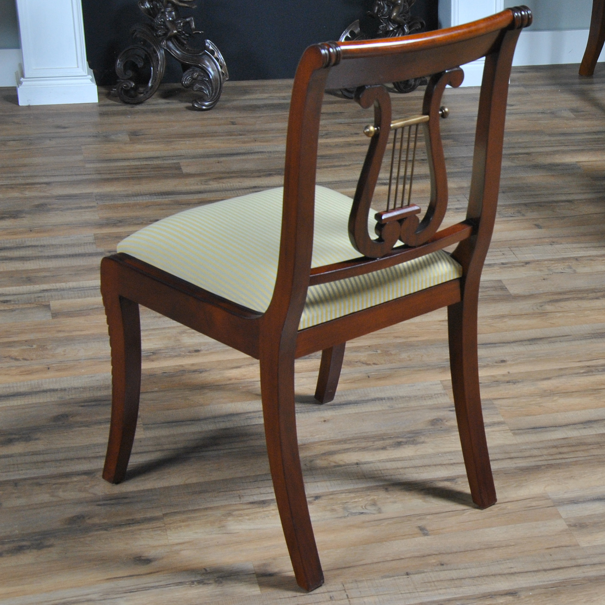 Lyre Back Chairs Harp Back Chair Ndrsc008