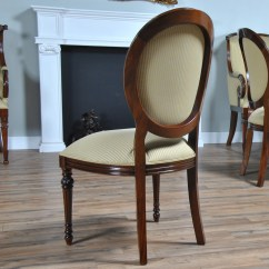 Round Back Dining Chair Best For Sciatica Pain Mahogany Side Niagara Furniture Solid