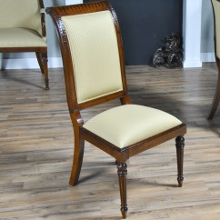 Tall Back Chairs Wood Folding Chair Upholstered Side Niagara Furniture Solid