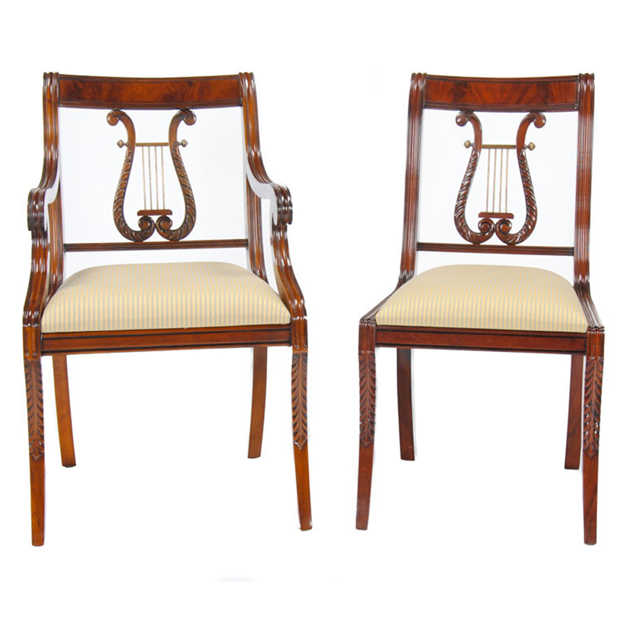 Lyre Back Chairs Ndrac008z