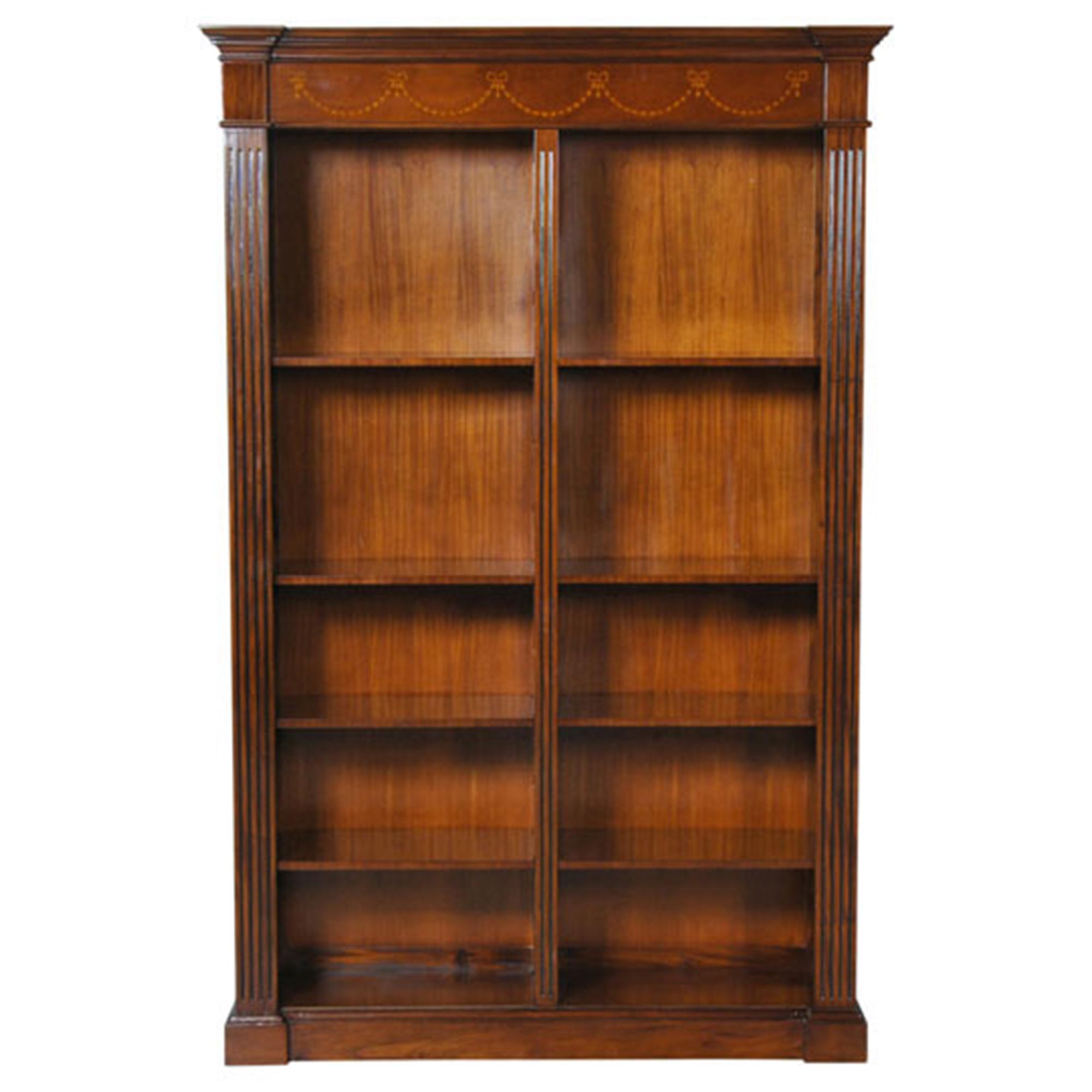 Large Mahogany Bookcase Nof060