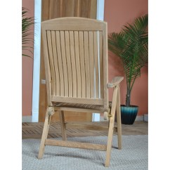 High End Folding Chairs Home Office Desk Niagara Teak Cornwall Chair Solid