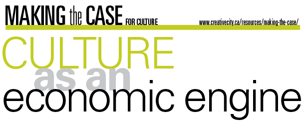 Culture As An Economic Engine