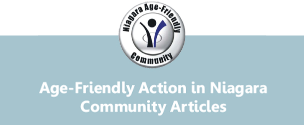 Age Friendly Action in Niagara: Community Articles