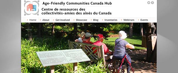 Age-Friendly Communities Canada Hub