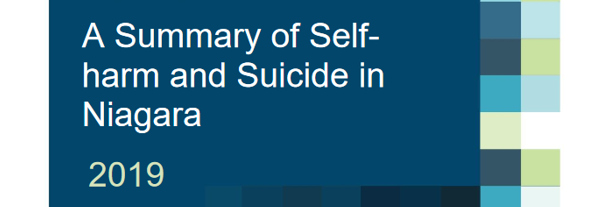 Summary of Self-Harm and Suicide in Niagara Image