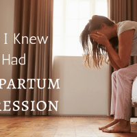 How I Knew I Had Postpartum Depression