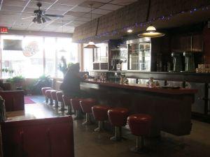 Interior of the Hi-Lite Restaurant in Niagara Falls