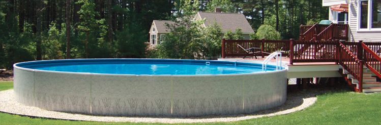Semi-Inground Pools | Niagara Pool & Spa