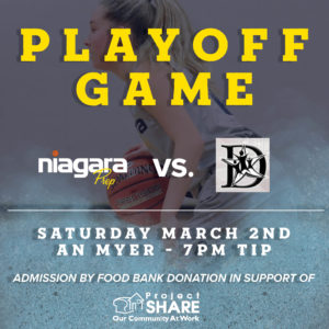 Playoff Game - March 2