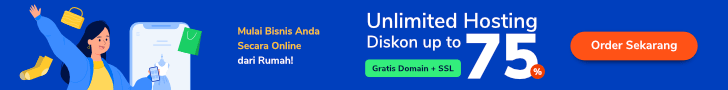 Affiliate Banner Unlimited Hosting Indonesia
