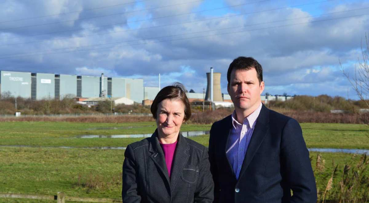 Pushing Tata Steel to secure future of Trostre – Nia Griffith MP