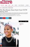 Allure.com, Best Beauty Street Style