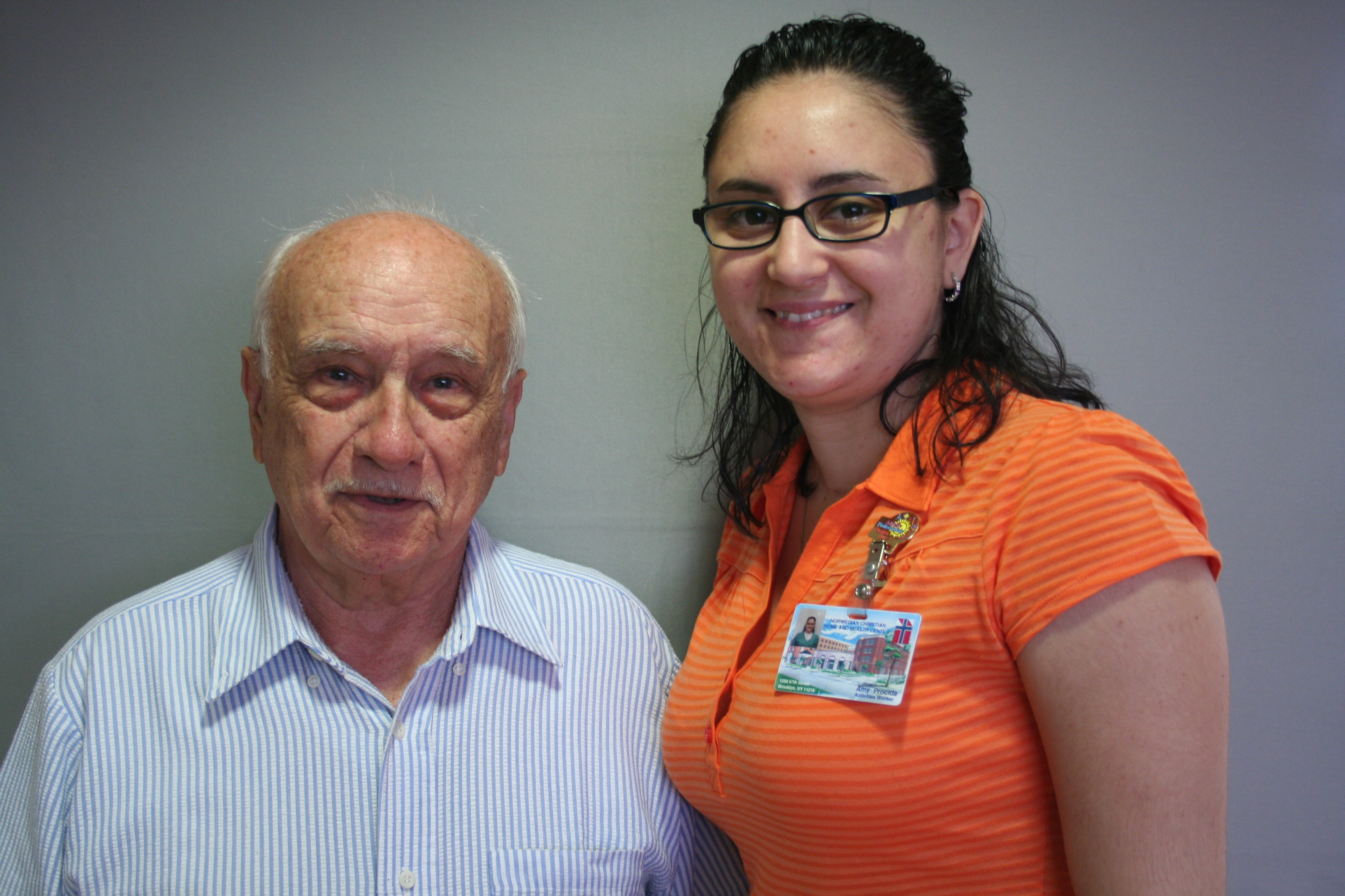 StoryCorps: Anthony Fabietti & Amy Christodoulou