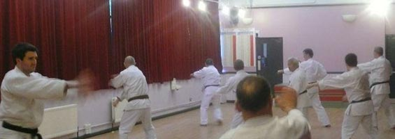karate class in Dungannon