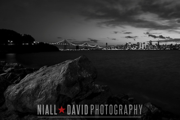 San Francisco Skyline – Nighttime Views from Treasure Island