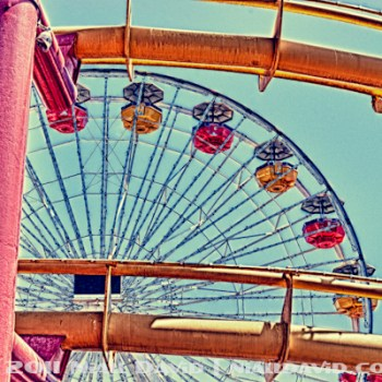 Niall David Photography - Santa Monica Pier Amusement Park HDR