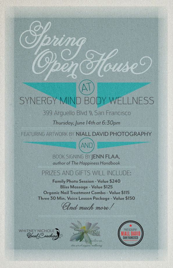Spring Open House at Synergy Mind Body Wellness