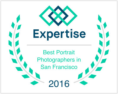 Expertise Award Best Portrait Photographers San Francisco Bay Area Laurels Badge