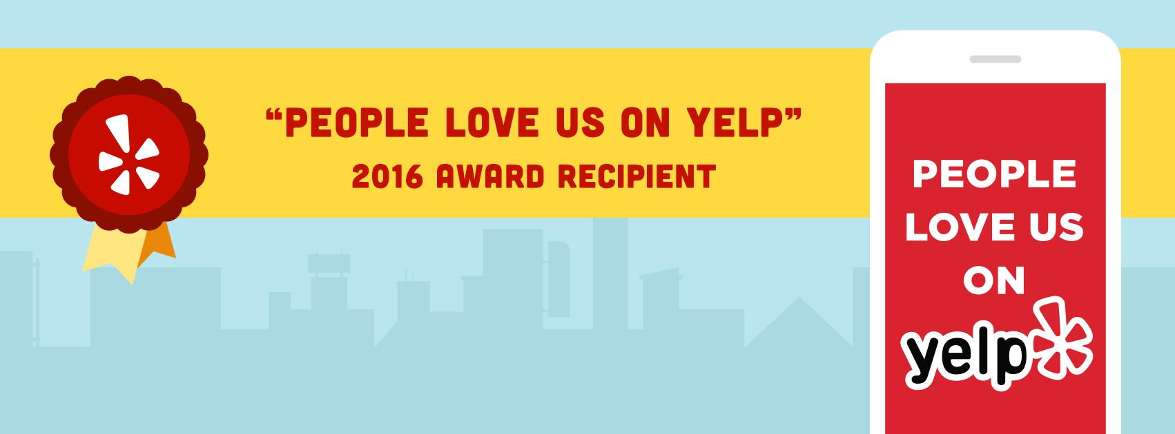 People Love Us On Yelp Header Image
