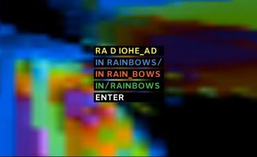 , Fan Cover art for <em></noscript>In Rainbows</em>