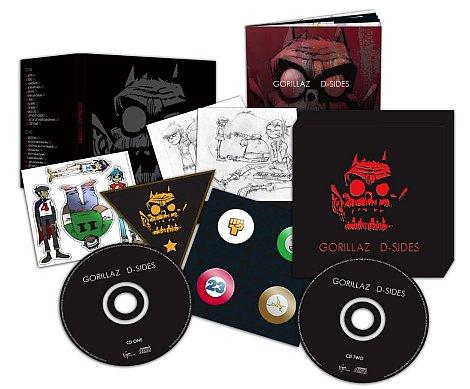 , Giveaway: Gorillaz D-Sides Prize pack