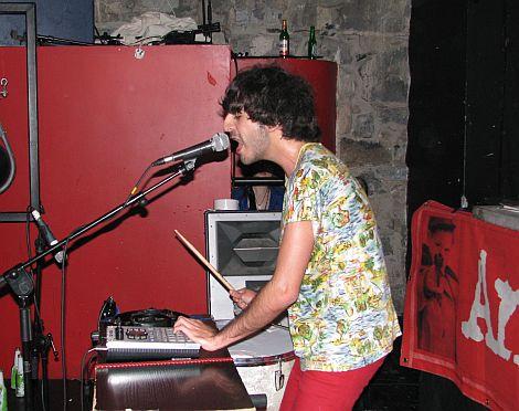 , Antics at the disco with El Guincho