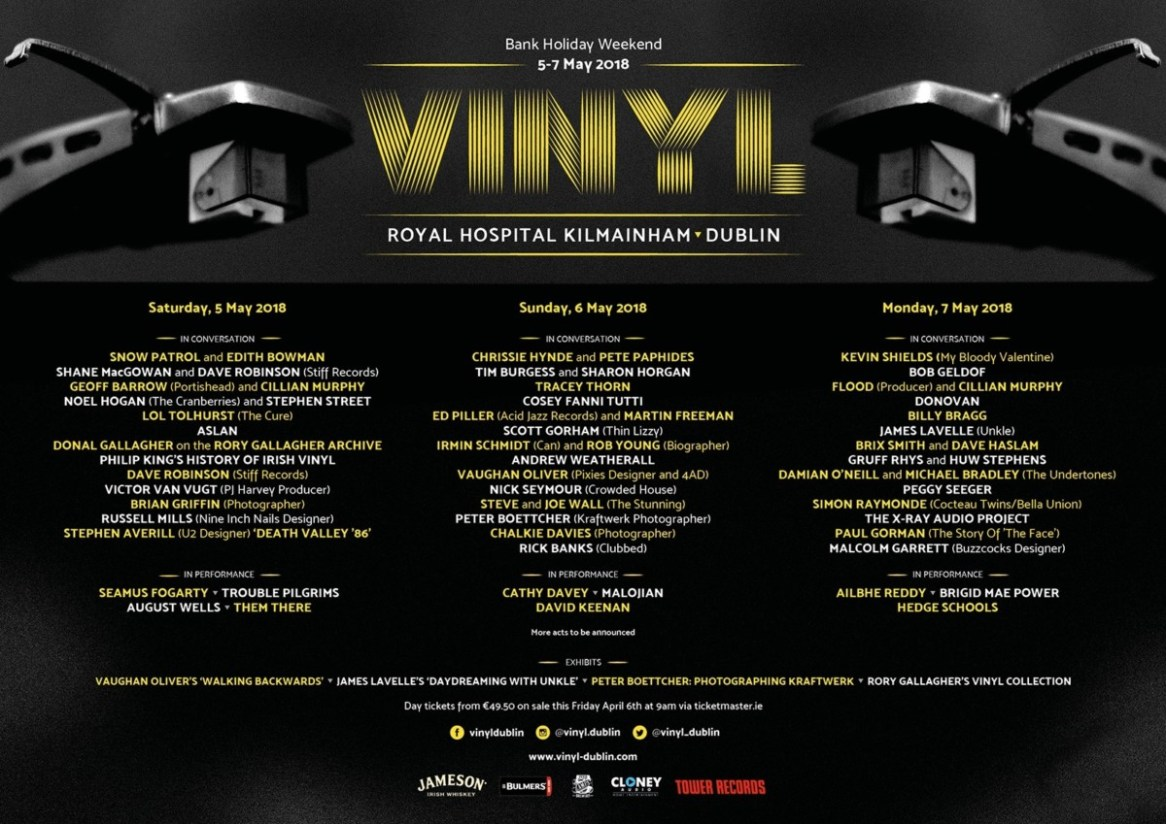 , Vinyl Festival in IMMA Dublin announces day-by-day breakdown & 2 for 1 tickets for RSD
