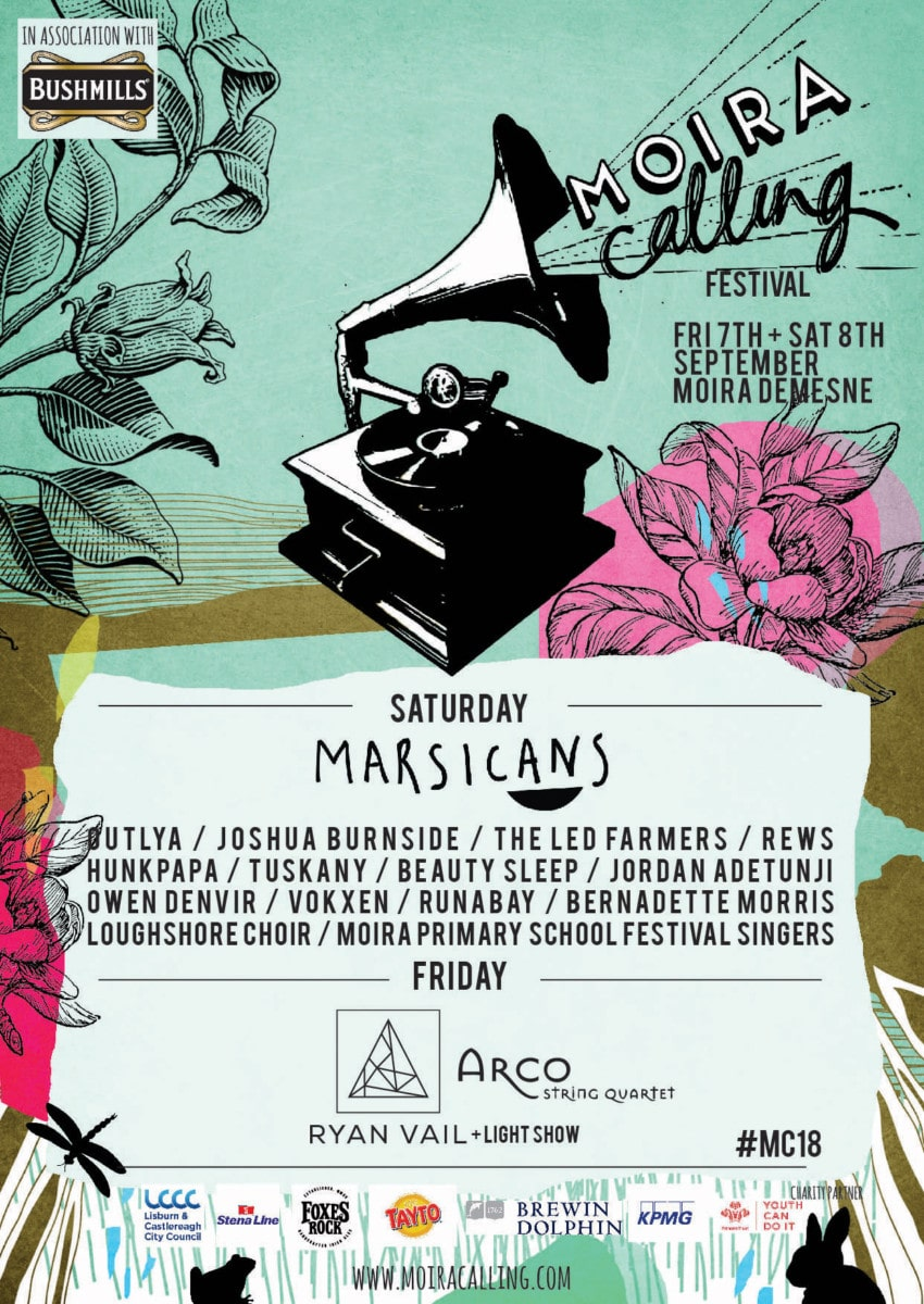 , Moira Calling music and arts festival unveil full lineup feat. Joshua Burnside, Rews, Beauty Sleep & more