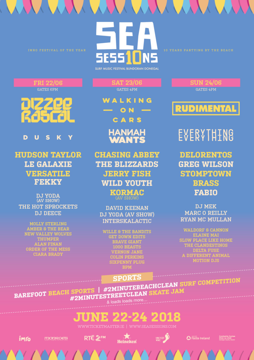 , Win a pair of tickets to this year's Sea Sessions